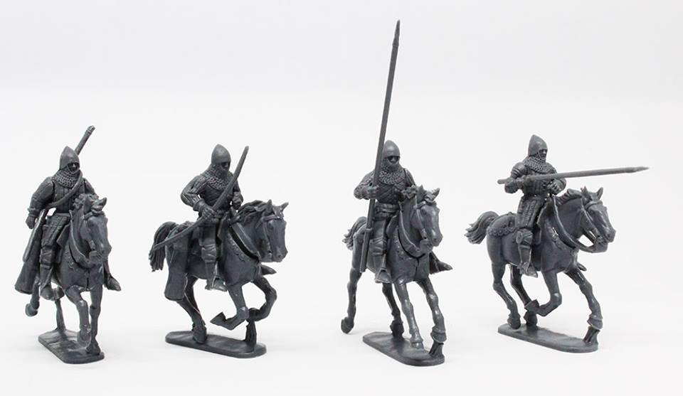 Figurine Perry Miniatures plastique XIVe - XVe siècles 48388910