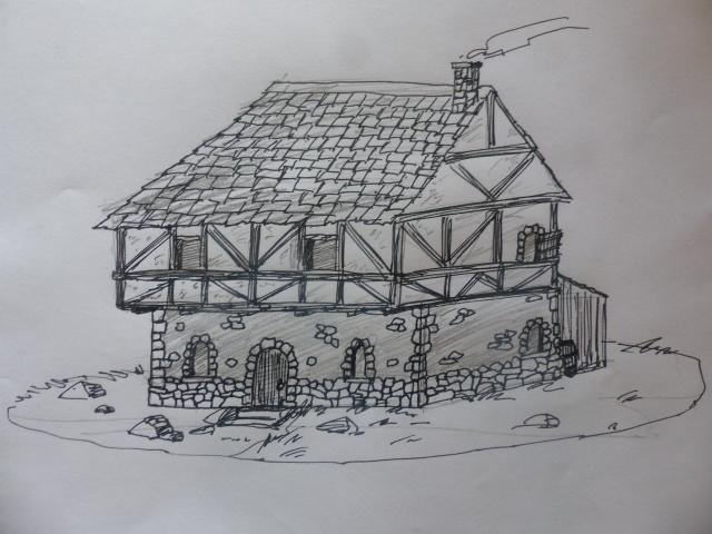 Maison du village de Brée P1090510
