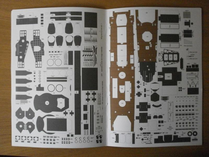 IJN YUBARI paper-card model au 1/200 de ADW MODEL P3160017