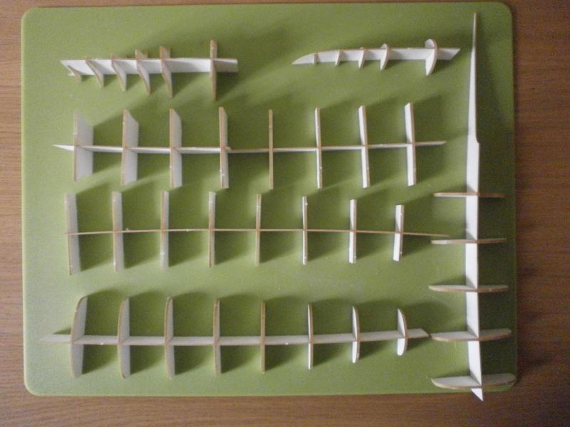 IJN YUBARI paper-card model au 1/200 de ADW MODEL P3170010