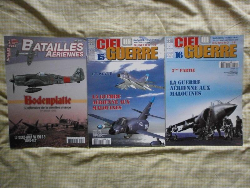 Vends derniers lots de revues  P3250010