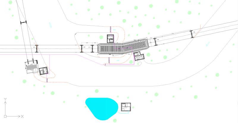 Dessins techniques, Plans 2D remontées mécaniques 2d_110