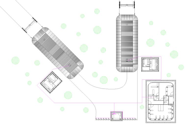 Dessins techniques, Plans 2D remontées mécaniques 2d_310