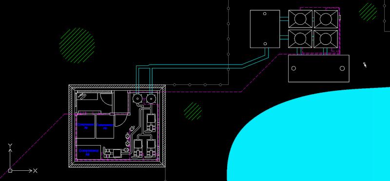 Dessins techniques, Plans 2D remontées mécaniques Draft110