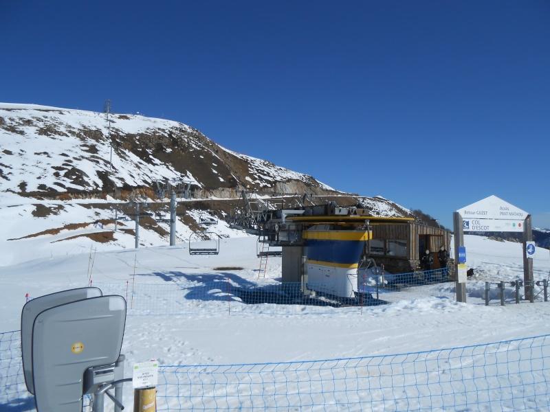 Télésiège fixe 4 places (TSF4) Col d'Escot G1-tsf11