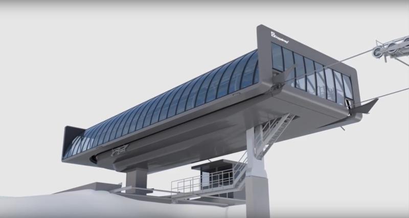 D-Line Doppelmayr Gare210