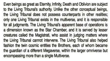 The Living Tribunal Megaverse Level Confirmed  31986310