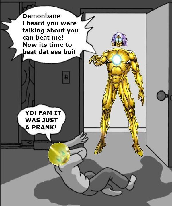 The Living Tribunal Vs Elder God Demonbane Meme Living11