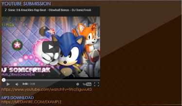 ★ Update: Sonic Rap Beat Contest - Sample Pack Release ★ Submis10