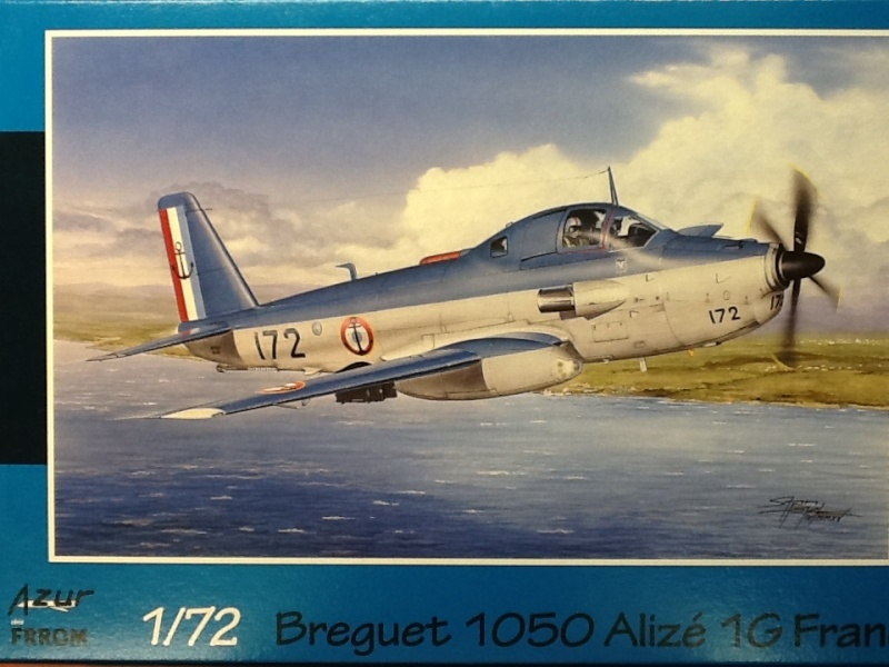 alizé - [AZUR FRROM] BREGUET  Br 1050 ALIZE 1/72ème Réf FR0028 Azur_f12