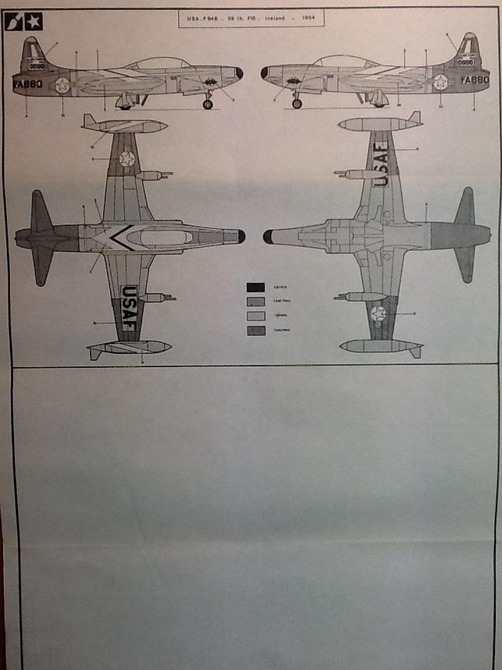 LOCKHEED F 94 B STARFIRE 1/72ème Réf 302 Helle147