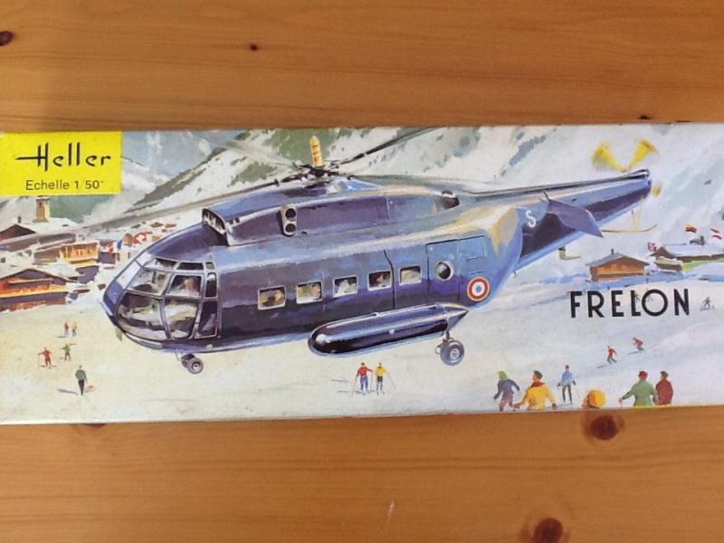 SNCASE SE 3200 FRELON 1/50ème Réf 325 Helle196