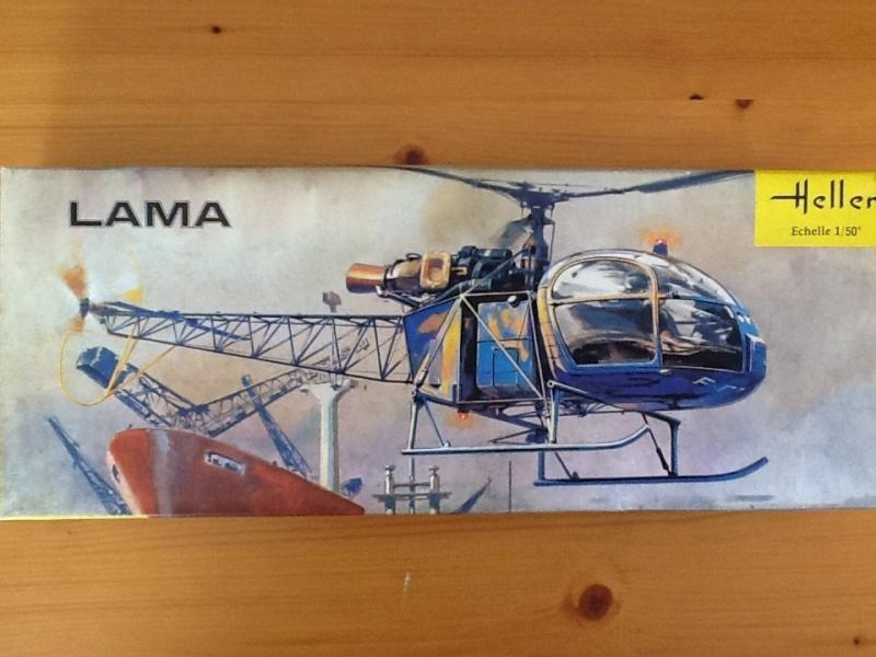 SUD AVIATION SA 315 LAMA 1/50ème Réf L341 Heller90