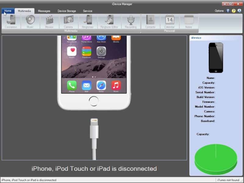 iDevice Manager 5.4.0.0 - Διαχειριστείτε τα αρχεία του iPhone σας από το pc 1010
