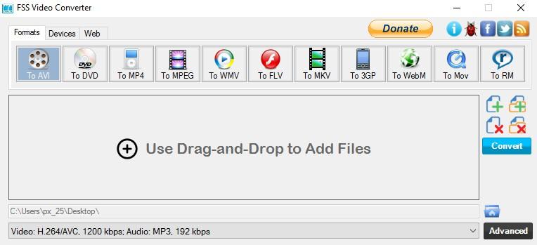 FSS Video Converter 2.2.0.3 1100