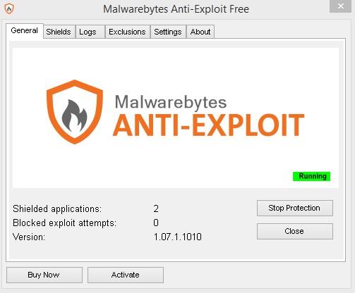 Malwarebytes Anti-Exploit 1.12.1.141 Beta 1141