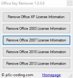 Office Key Remover 1.0.0.8 1148
