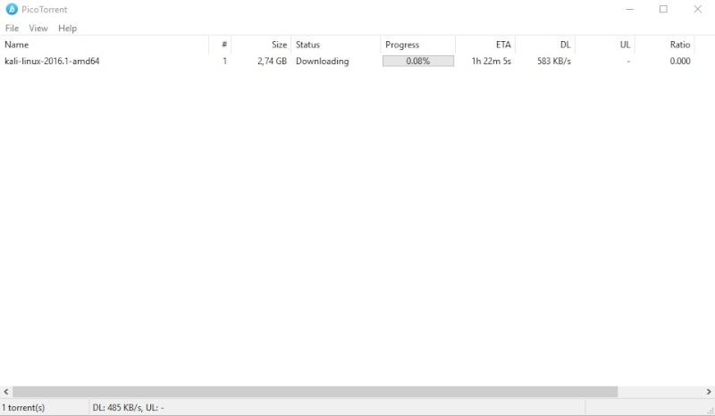 PicoTorrent 0.17 1152