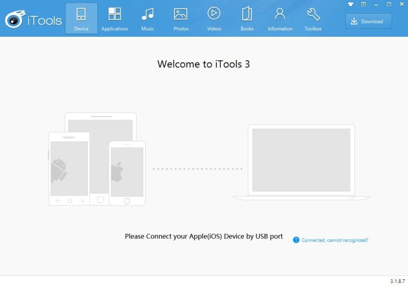 iTools 4.3.6.9 - Διαχειριστείτε το iPhone σας μέσω windows 1171