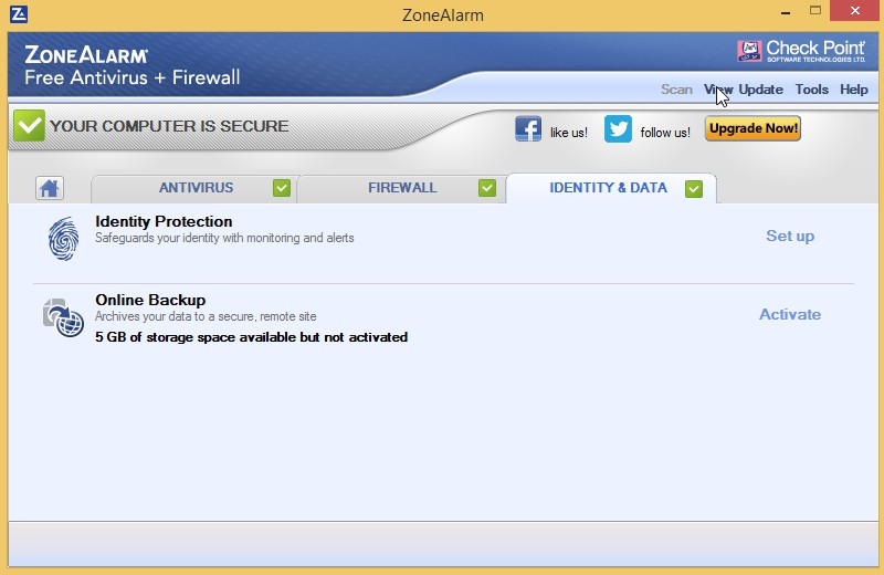 ZoneAlarm Free Antivirus + Firewall 15.6.121.18102 1211