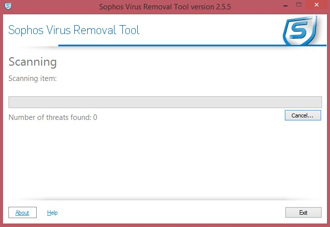 Sophos Virus Removal Tool 2.7.0.0 1410