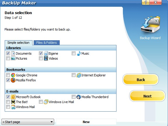 BackUp Maker Standard Edition 7.305 177