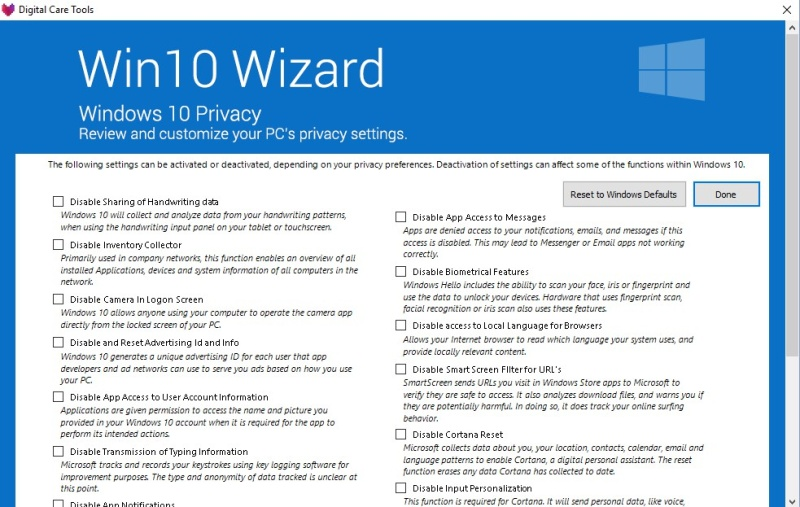 Win10 Wizard 1.0.2.0 2108