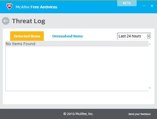 [ΝΕΟ] McAfee Free Antivirus 0.5.107.1 Beta 246