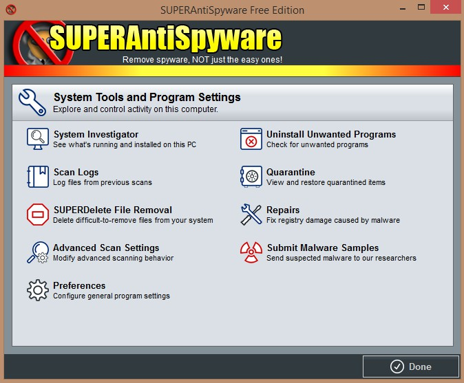 SUPERAntiSpyware Free Edition 10.0.1222  251