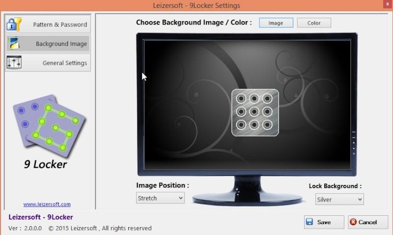 9Locker 2.0.0.0 - Κλειδώστε την επιφάνεια εργασίας όπως το smartphone σας 265