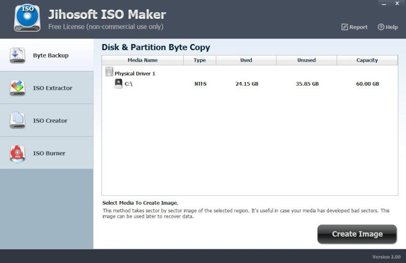 Jihosoft ISO Maker Free 2.00 275