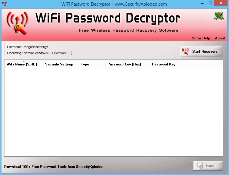 WiFi Password Decryptor 12.0 329