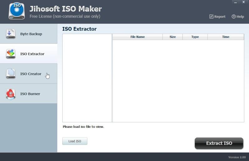 Jihosoft ISO Maker Free 2.00 357