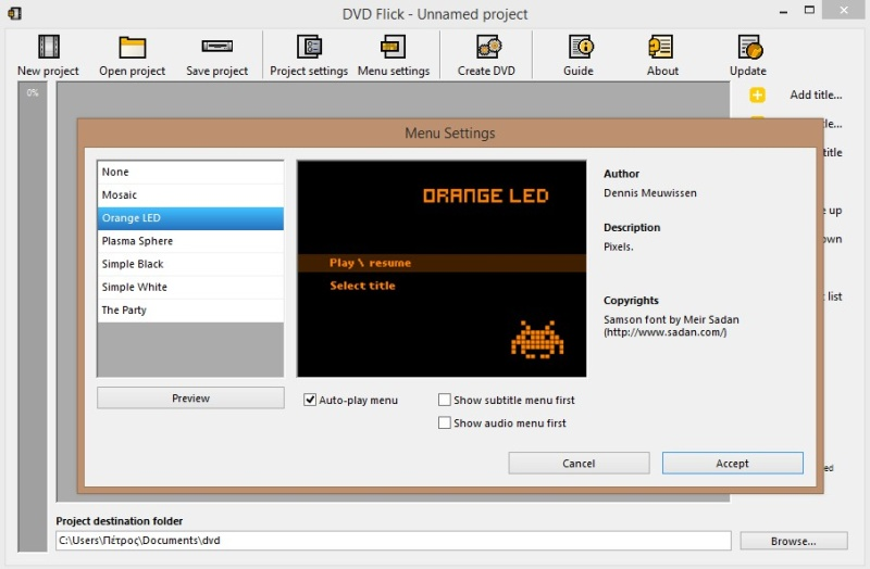 DVD Flick 1.3.0.7 Build 738 483
