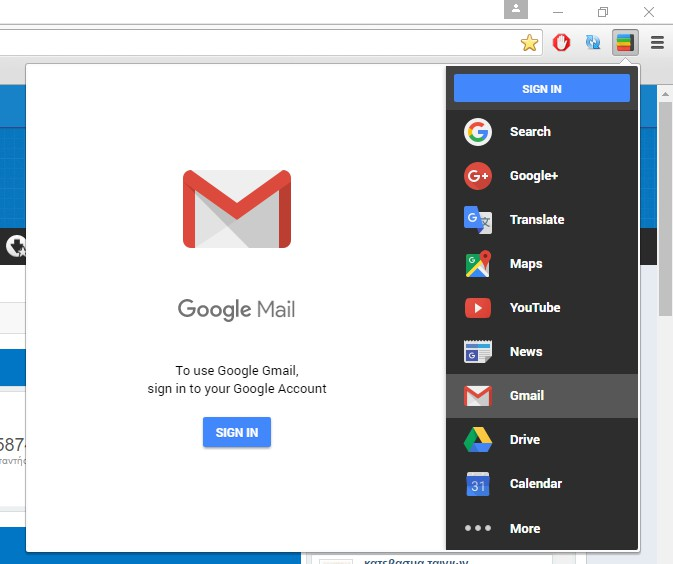 Black Menu for Google 12.2.0 513