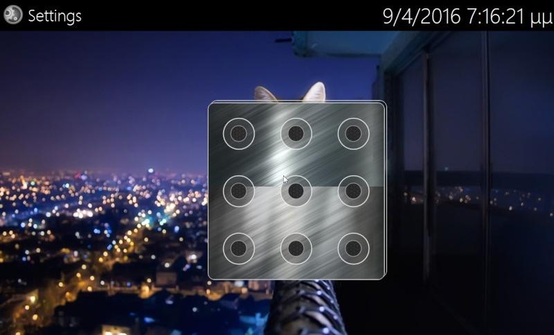 9Locker 2.0.0.0 - Κλειδώστε την επιφάνεια εργασίας όπως το smartphone σας 533