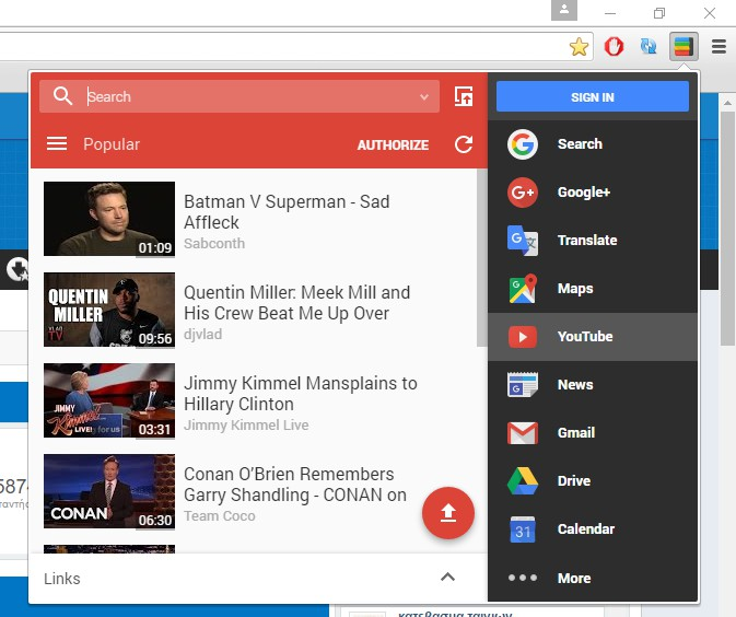 Black Menu for Google 12.2.0 612