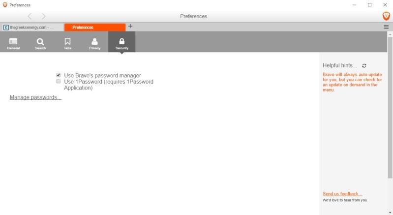 Brave 0.17.13 Dev - Ασφαλή περιήγηση χωρίς διαφημίσεις 628