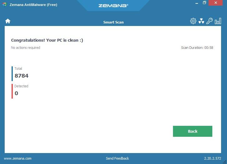 Zemana AntiMalware Free 2.20.2.911 636