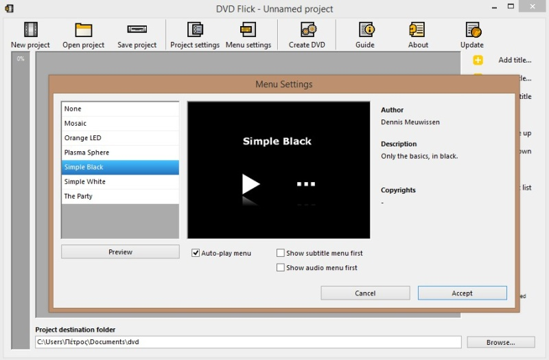 DVD Flick 1.3.0.7 Build 738 649