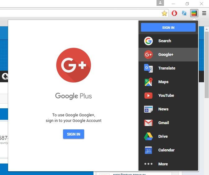 Black Menu for Google 12.2.0 711