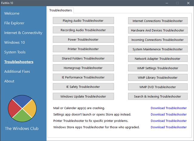 Windows 10: 5 Δωρεάν προγράμματα για να διορθώσετε οποιοδήποτε πρόβλημα Fix-wi10