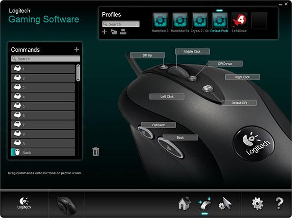 Logitech Gaming Software 9.02.65 - Διαμορφώστε το χειριστηριό σας Gljbm110