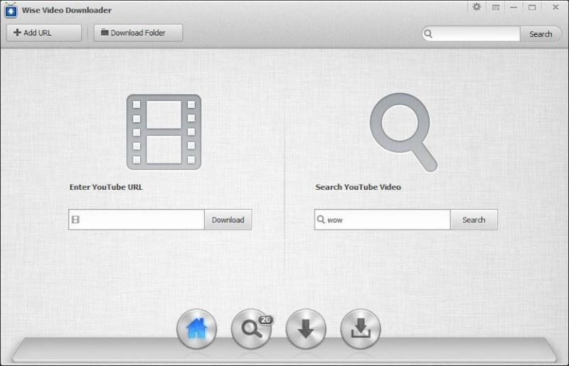 Wise Video Downloader 2.53.102 - Αναζητήστε και κατεβάστε τα αγαπημένα σας βίντεο από το YouTube Home10