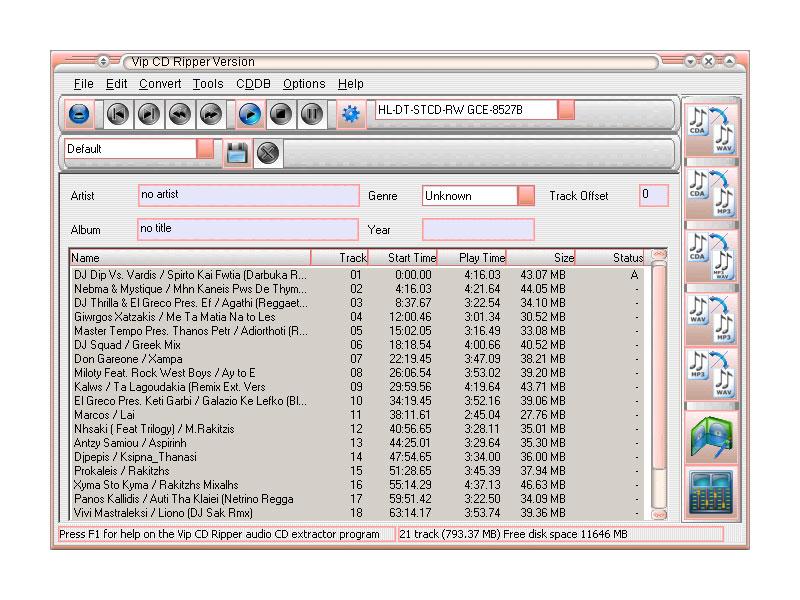 CD & DVD Tools Vip-cd10