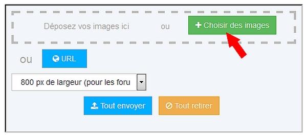 Comment insérer des images dans les messages? 111