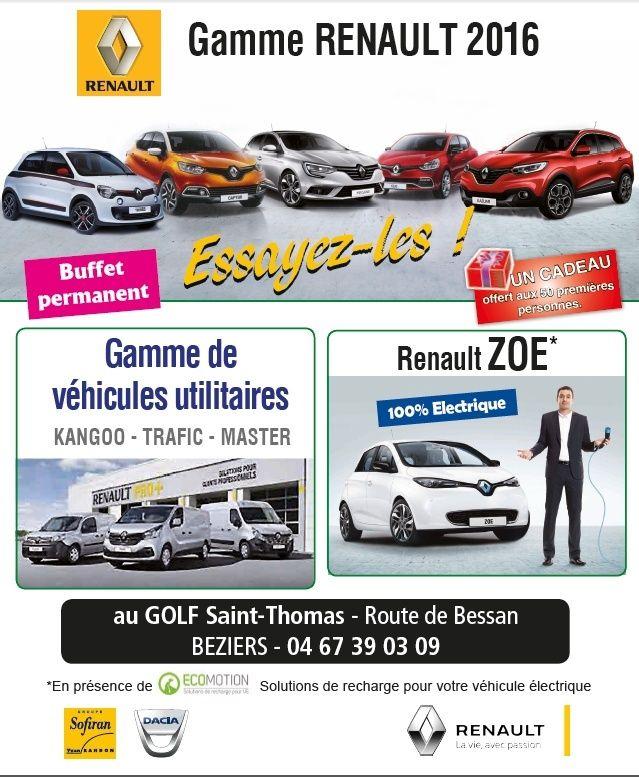 Exposition Renault au Golf de Saint Thomas (Béziers) Golfy10