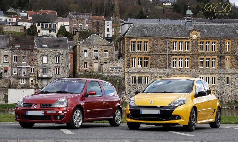 Clio 2 RS2 et Golf 2 Rats Doui08 12419210