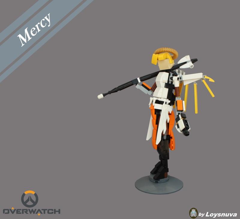 [MOC] Angela Ziegler aka Mercy. LEGO Overwatch.[micro update] Mercy_10