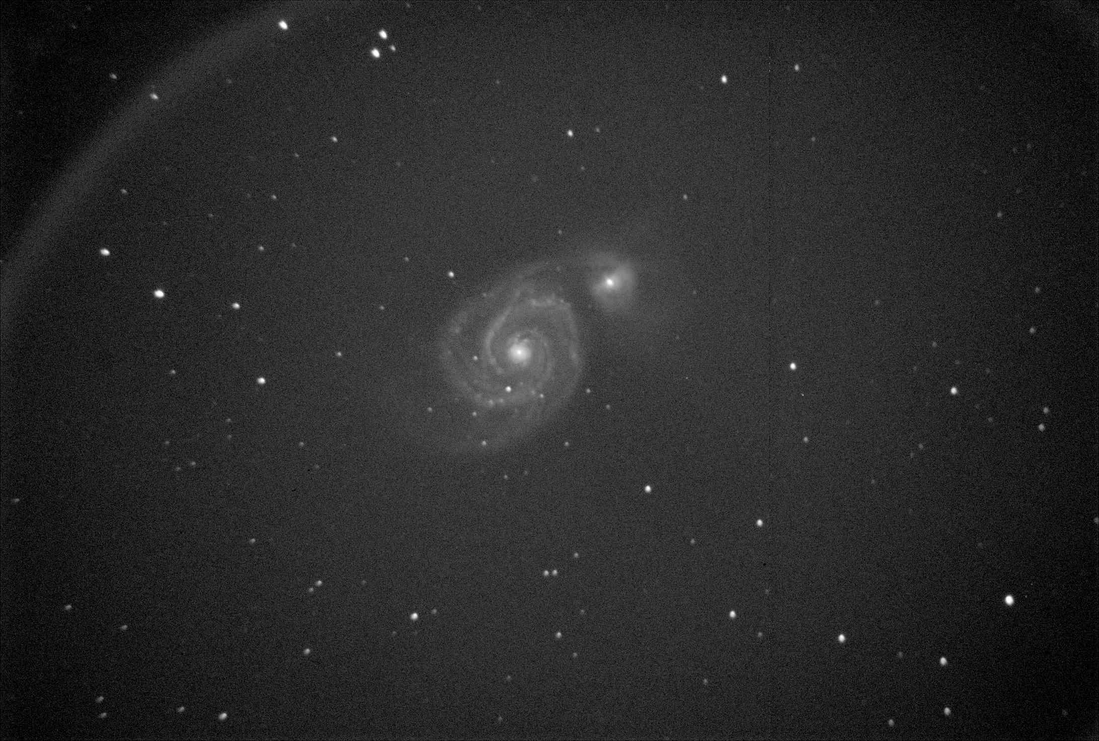 SBIG: 2 soirées de test M51-6010